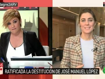 Lorena Ruiz-Huerta en Al Rojo Vivo