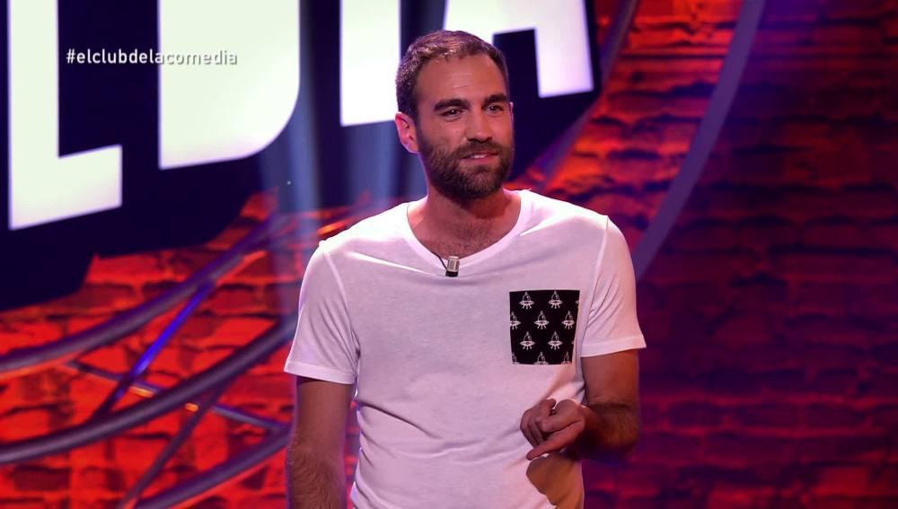 Jon Plazaola, en El Club de la Comedia