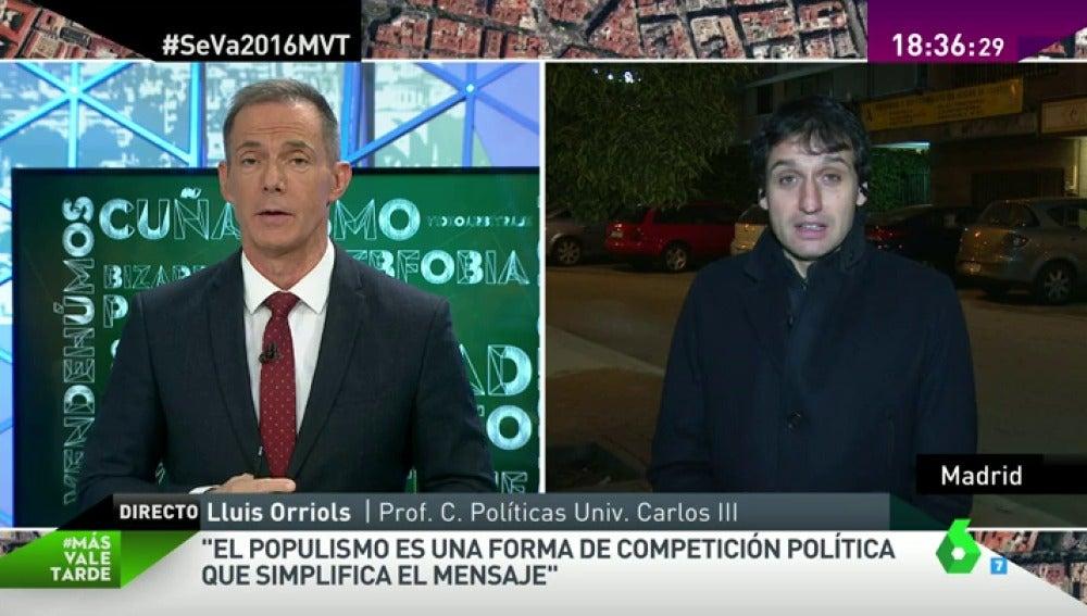 """Frame 54.146759 de: Lluis Orriols: """"El populismo es la estrategia política de confrontar élites con ciudadanía"""""""