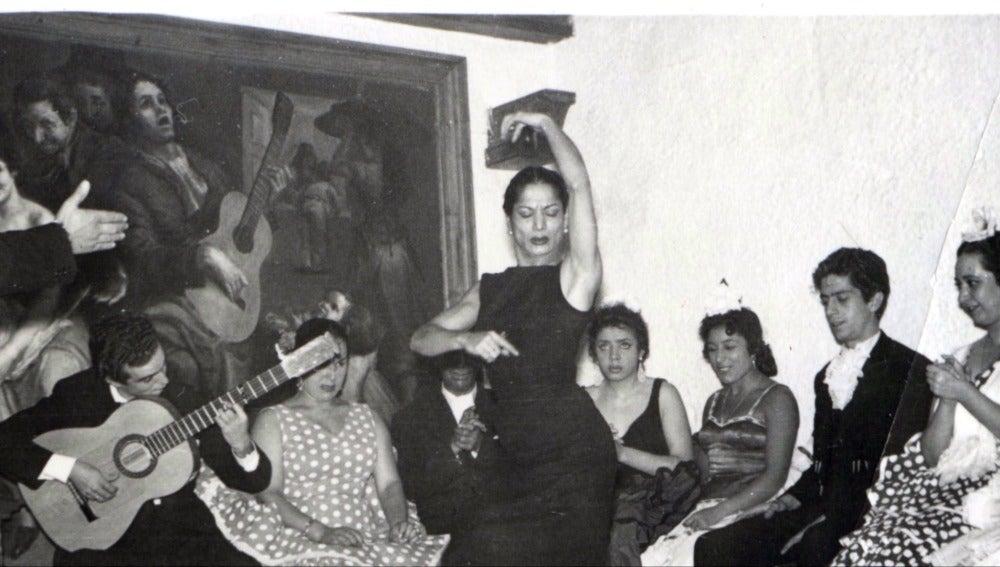 Actuación en El Corral de la Morería