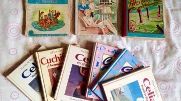 Diferentes ediciones de Celia.