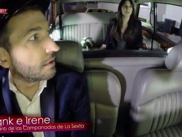 Frame 126.874803 de: La sorpresa de Miki Nadal a Frank Blanco e Irene Junquera de camino a las Campanadas