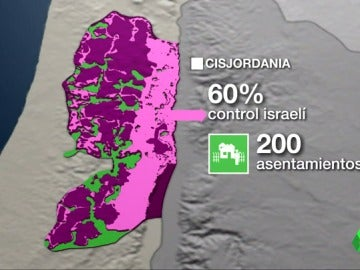 Frame 35.842284 de: Así viven los palestinos tras 50 años del control israelí en Cisjordania