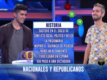 Ahora caigo - La escasa cultura en Ahora Caigo sobre la Guerra Civil española que hizo arder las redes sociales