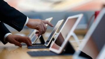 iPads en la tienda