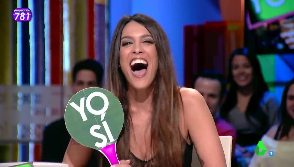 Lorena Castell, en Zapeando