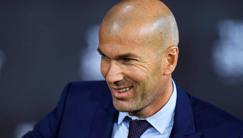 Zidane en los premios 'The Best'