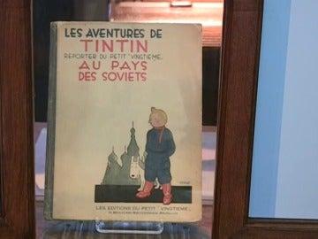 Reeditan el primer cómic de Tintín 88 años después