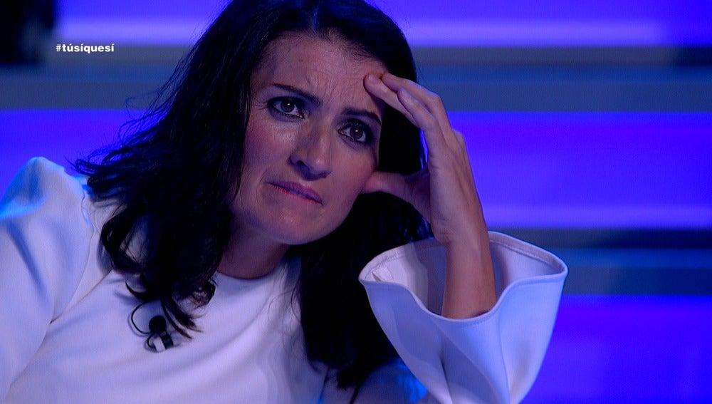 Silvia Abril, impresionada con una actuación de Tú sí que sí