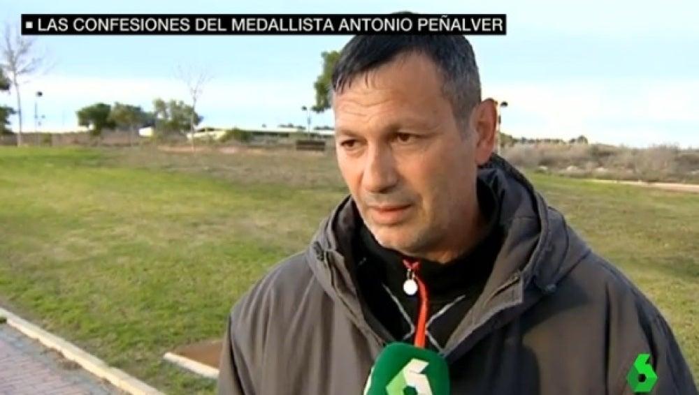 Antonio Peñalver, medalla de plata en Barcelona 92