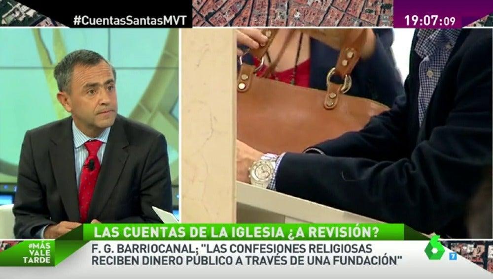 """Frame 458.661571 de: F.G. Barriocanal: """"Desde 2007 la iglesia no recibe nada de los Presupuestos Generales del Estado"""""""