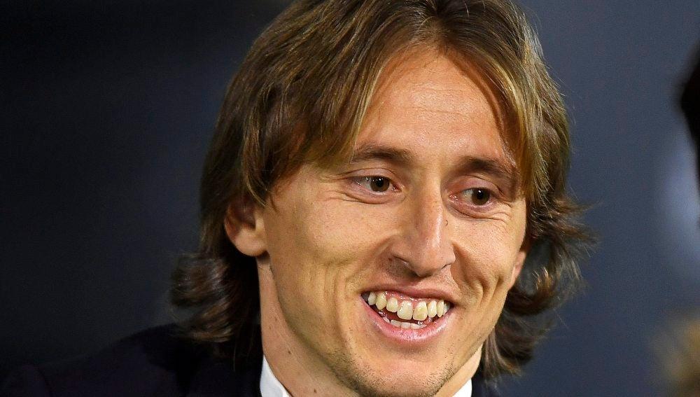 Luka Modric, mejor jugador croata del año