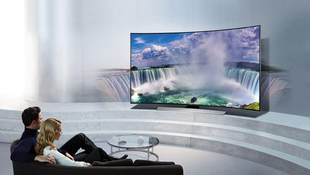 Televisión curva de Samsung
