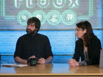 Andrea Levy en 'Lo del Floox Show'