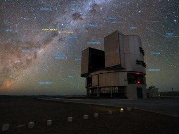 El telescopio VLT, del ESO