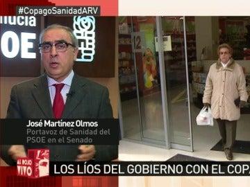 """Frame 139.045659 de: José Martínez Olmos: """"El copago farmacéutico se puede y se debe eliminar"""""""