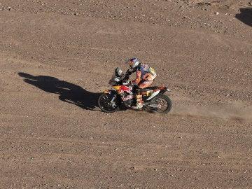 El motociclista británico Sam Sunderland