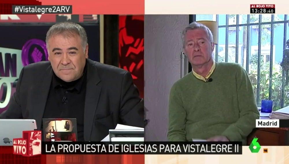 """Frame 27.556061 de: Jorge Verstrynge: """"El documento de Pablo Iglesias busca acabar con el 'lloriqueo' madrileño"""""""