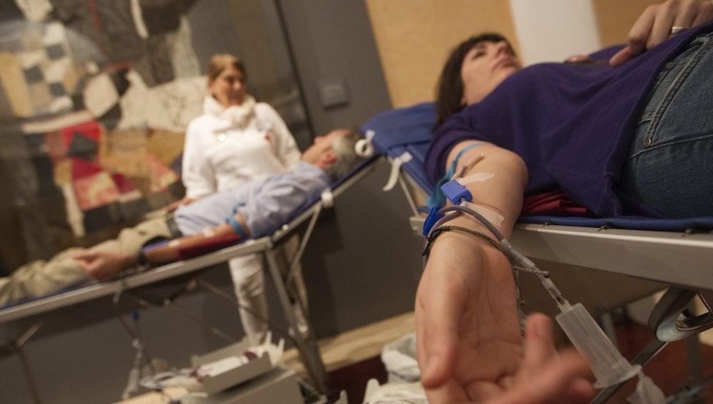 Vacuna contra la gripe en un hospital