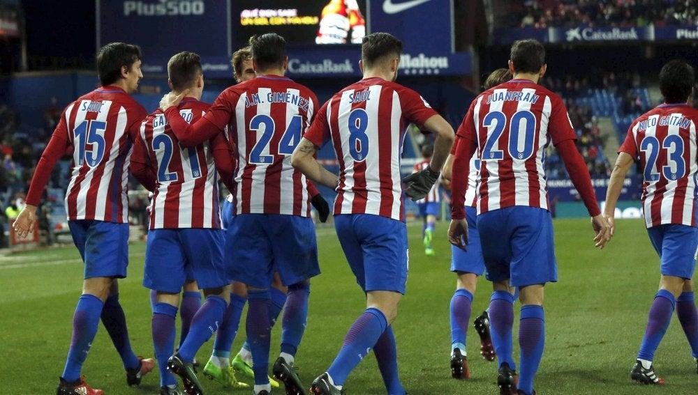 Los jugadores del Atlético sentencian al Eibar