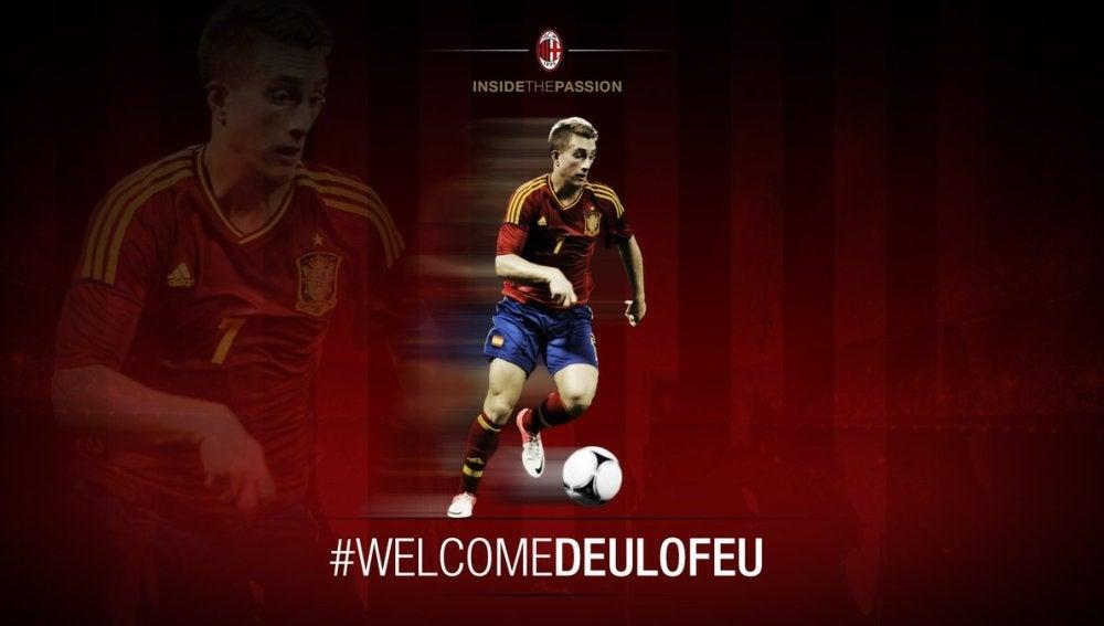 El Milan da la bienvenida a Deulofeu