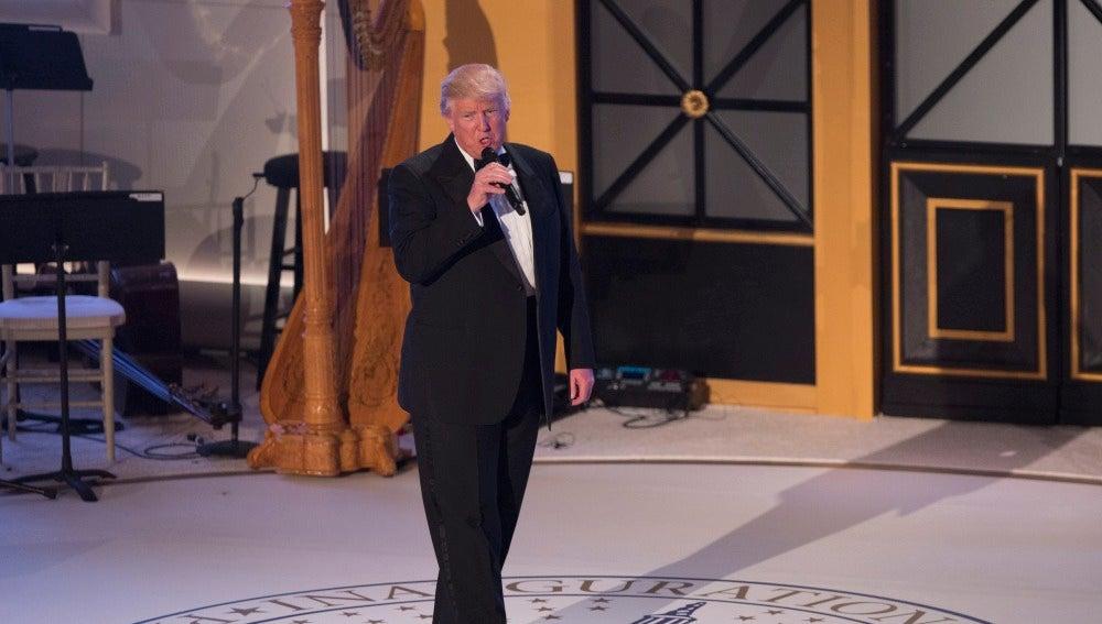 El presidente electo de los Estados Unidos, Donald J. Trump