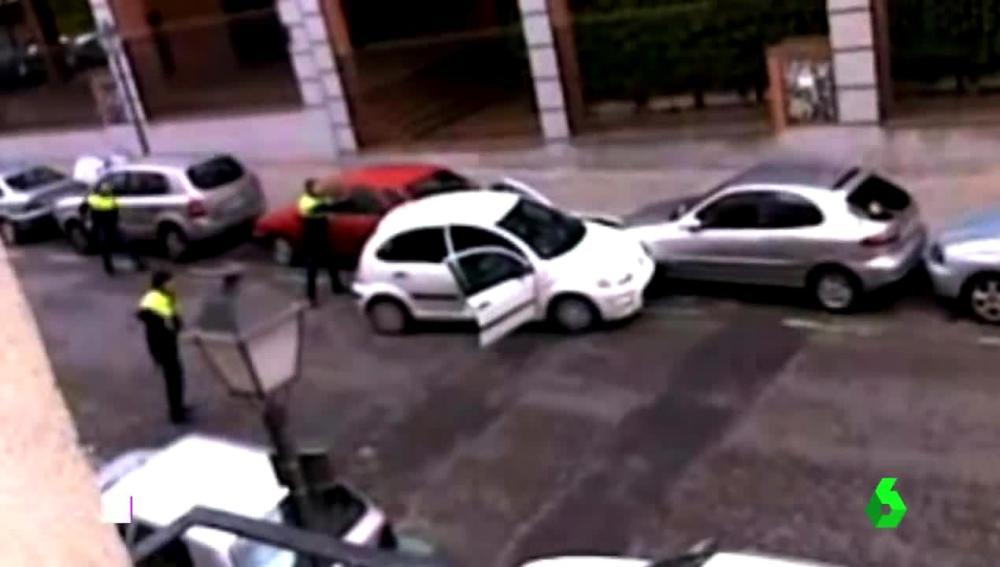 Persecución policial en Getafe
