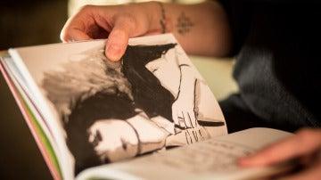 'El bebé verde!, en las manos de Roberta Marrero