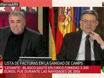 """Frame 4.686057 de: Ximo Puig, sobre las facturas en la sanidad de Camps: """"Aquí no hubo ningún freno. Tenemos 43.000 millones de deuda"""""""
