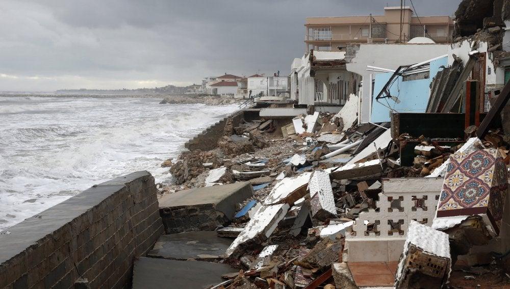 Consecuencias del temporal en Dénia