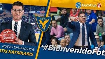 Katsikaris, nuevo entrenador del UCAM Murcia