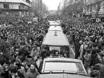 Funeral de la Matanza de Atocha
