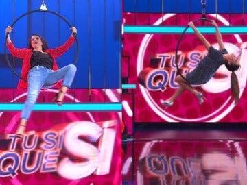 Silvia Abril y Cristina Pedroche en TSQS