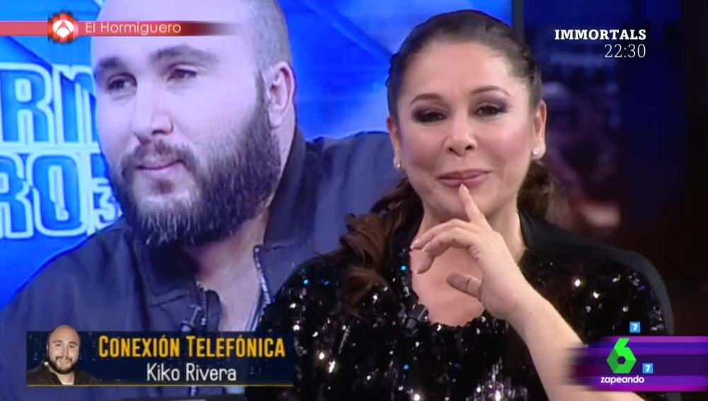 Kiko Rivera sorprende a Isabel Pantoja