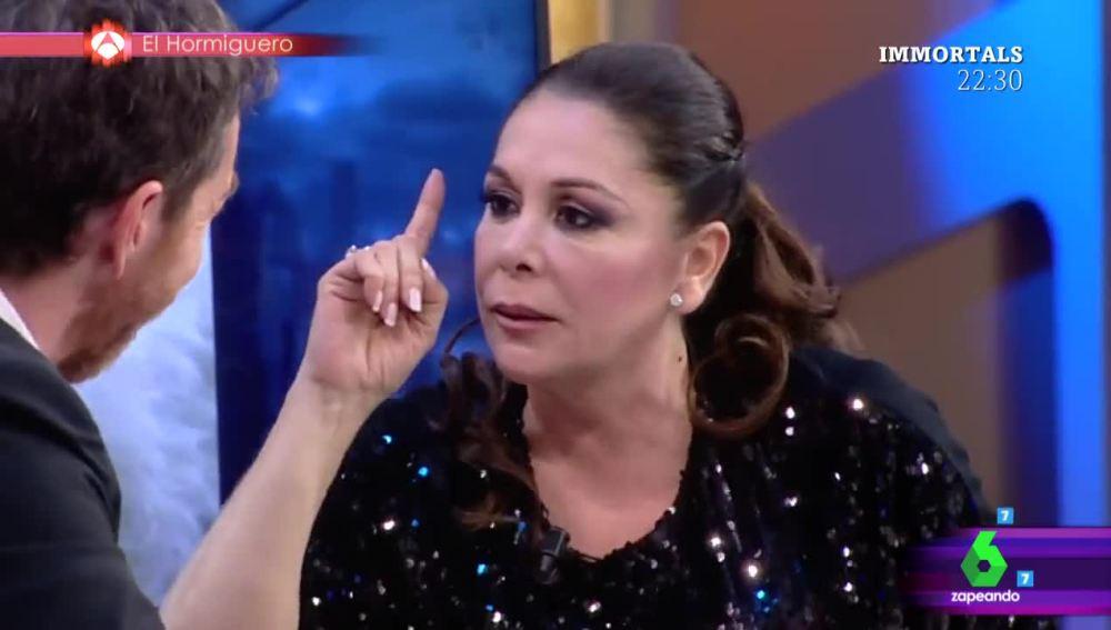 Isabel Pantoja, en El Hormiguero