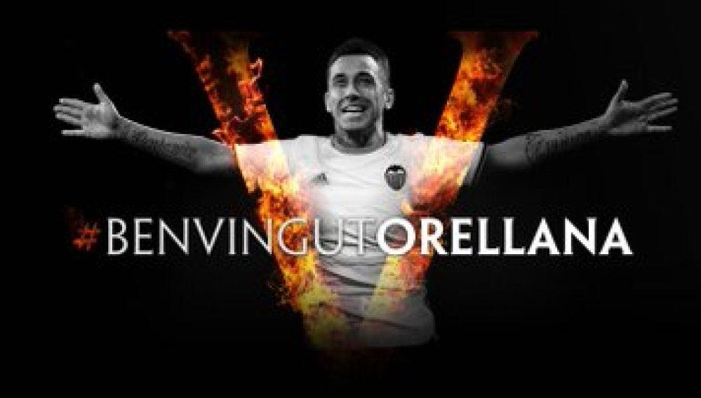 El Valencia hace oficial la llegada de Orellana