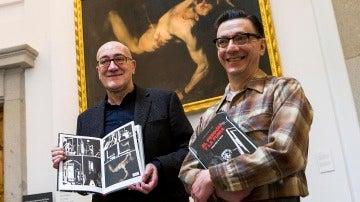 Antonio Altarriba y Keko (José Antonio Godoy), guionista  e ilustrador, del cómic El perdón y la furia.