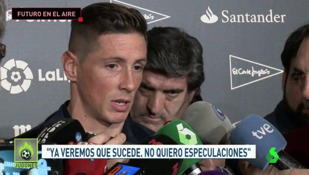 """Frame 35.7907 de: Fernando Torres sobre su renovación con el Atlético: """"Lo que tenga que pasar, pasará"""""""