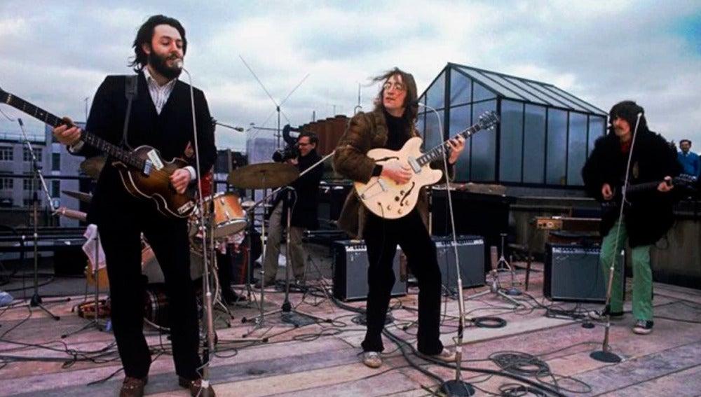 El último concierto de 'The Beatles' en la azotea
