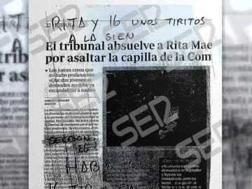 Amenazas a Rita Maestre