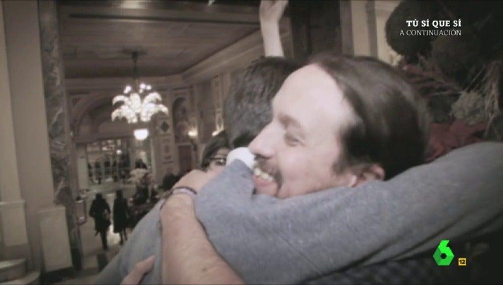 """Frame 67.654106 de: El vídeo In Memoriam de El Intermedio sobre """"la relación rota"""" entre Pablo Iglesias e Íñigo Errejón: """"Se les rompió el amor antes de empezar a usarlo"""""""