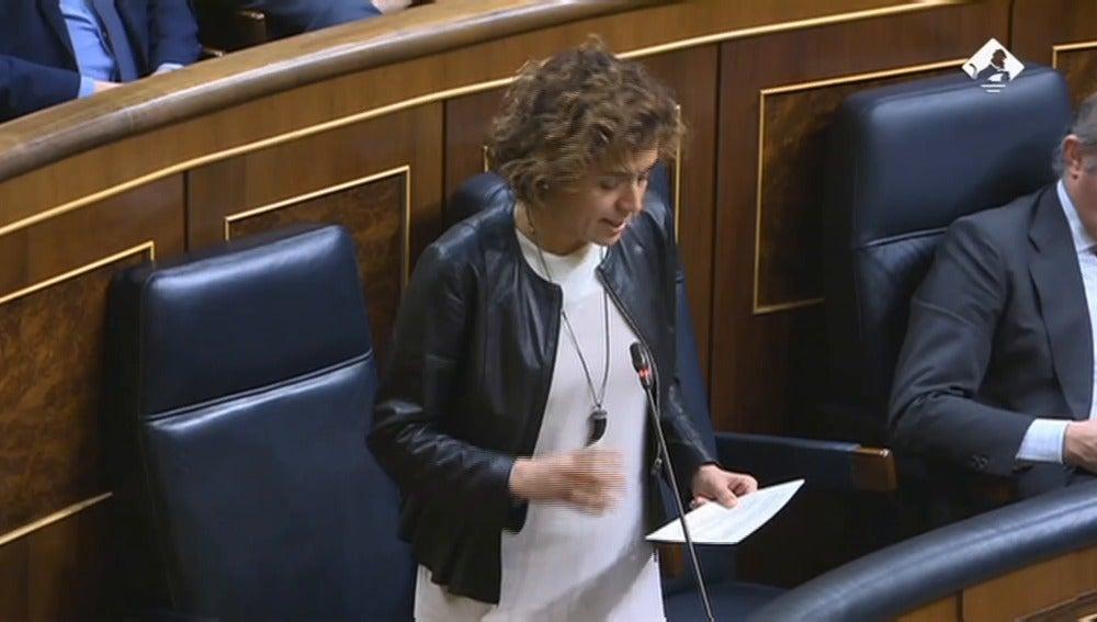 """Frame 0.0 de: Dolors Montserrat: """"En los últimos años se ha recuperado todo el desempleo femenino perdido por la crisis económica""""."""