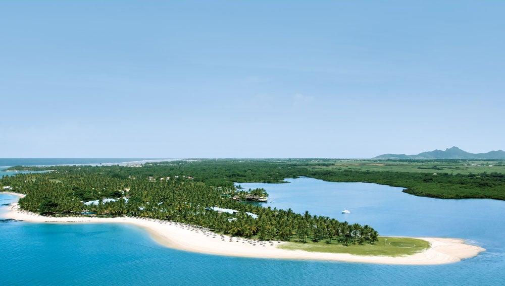 Vista de Isla Mauricio