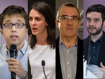 Errejón, Maestre, Yllanes, Bustinduy y Viyuela