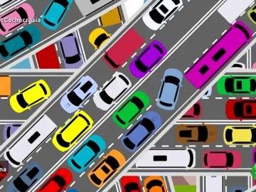 ¿Cómo y por qué se forman los atascos en las carreteras? Una pista: el origen está en nuestro modelo de vida