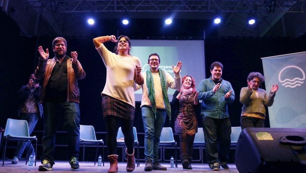 La corriente anticapitalista de Podemos presenta su candidatura para Vistalegre II