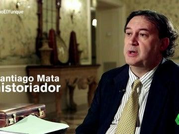 """Frame 80.532766 de: Santiago Mata, historiador: """"En 'El transparente' se citan las asociaciones que 'El Yunque' utiliza como tapaderas como HazteOir"""""""