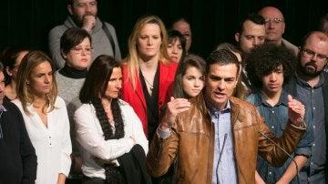 Pedro Sánchez llama a una movilización masiva para recuperar