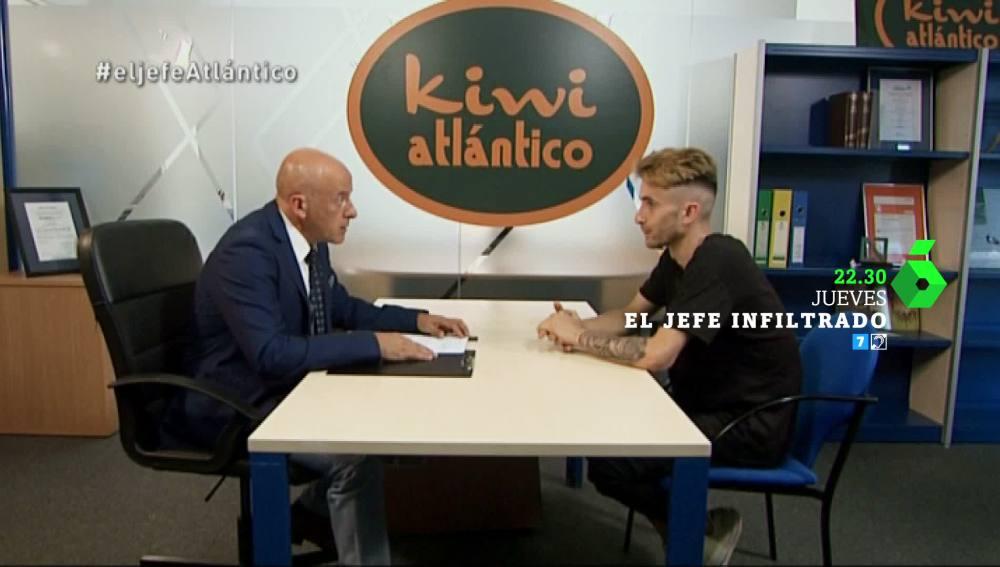 El Jefe Infiltrado de Kiwi Atlántico