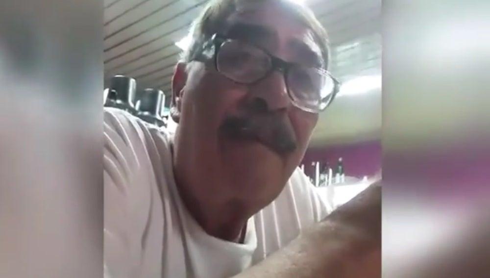 Antonio Cisneros, padre de Romina Balaguer